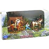 Newray 38535A Set da gioco ambientazione Western con