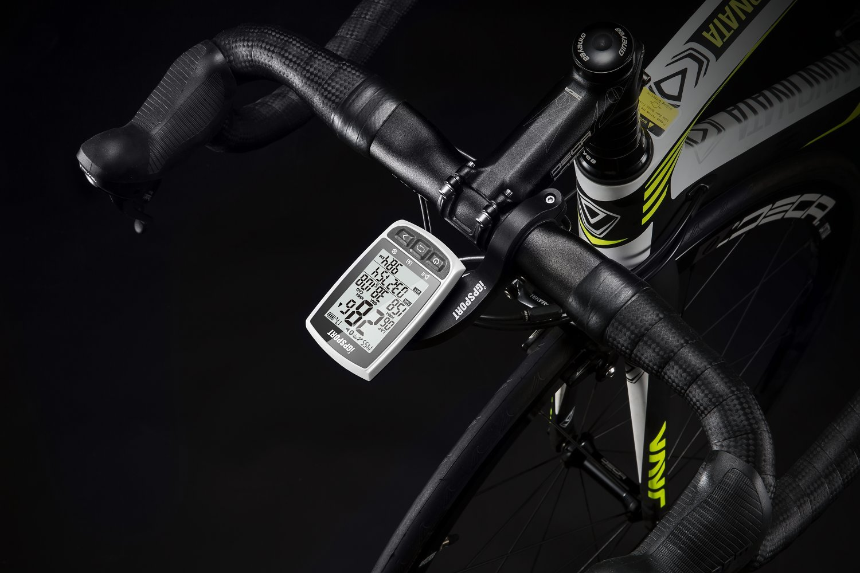 iGPSPORT GPS Bike Computer iGS50E Wireless Cycle Computer Waterproof Compatible Speed Cadence Heart rate Sensor (Not include Sensor)