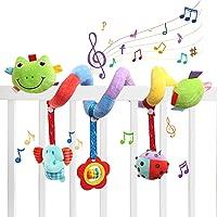 Ballery Giocattoli per Passeggino, Spirale da Passeggino Carrozzina Giocattolo Appeso Sonagli, Spirale attivita…