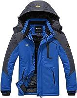 Wantdo Chaqueta de Montaña Esquí Impermeable para Hombres