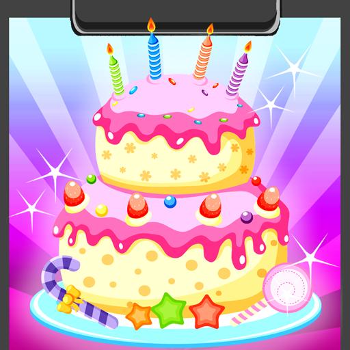 Libro Da Colorare Della Torta Di Compleanno Amazon It Appstore