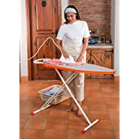 Bathla X-Pres Ace Lite - Foldable Ironing Board with Aluminised Ironing Surface (Silver)