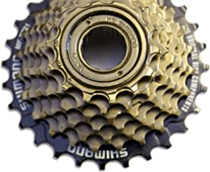 Bicycle 7 Speed Index Cassette 12-28 Sprocket MTB /& Hybrid Shimano//Sram