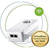 devolo Magic 2 – 2400 WiFi ac next Single Adapter: Weltweit schnellster Erweiterungs-Adapter mit bester Mesh-WLAN ac-Funktion, ideal für Streaming (2400 Mbit/s, 2x Gigabit LAN-Anschlüsse, G.hn)