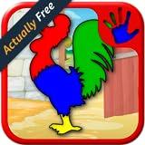 Granja niños y formas de rompecabezas Animal - juego educativo para niños jóvenes enseña que empareja habilidades adecuadas para niños y preescolar niños y niñas 2 +