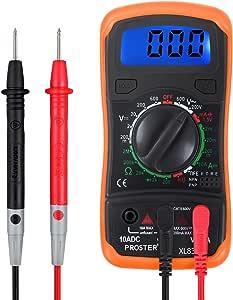Proster Digitaler Multimeter Manueller Bereich Elektronik