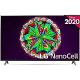 "LG 55NANO806NA - Smart TV 4K NanoCell 139 cm, 55"" con Inteligencia Artificial, Procesador Inteligente Quad Core, Deep Learnin"