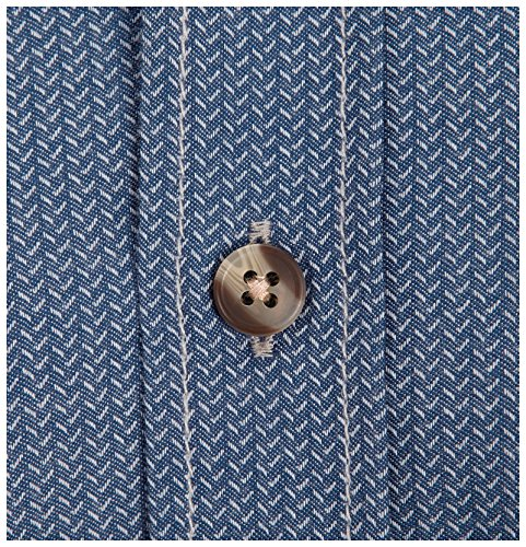 JAN VANDERSTORM Herren Hemd ENEVOLD in Übergröße Große Größen Plus Size Big Size XL XXL XXXL 4XL 5XL 6XL 7XL 8XL 9XL 10XL Blau