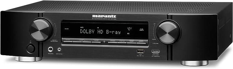 Marantz NR 1509 5.5 Kanal Ultra Slim AV Receiver, Schwarz