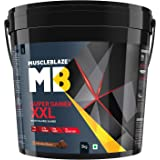 MuscleBlaze Super Mass Gainer (Chocolate, 5 Kg)