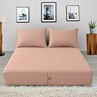 Looca Fitted Sheet Poly Cotton Plain Dyed Easy Care White   Grey   Charcoal   Silver   Red   Black Bed Sheets Single…