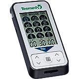 TESMED Trio 6.5 elettrostimolatore Muscolare - 36 programmi - 40 Livelli di intensità - Batteria Ricaricabile - 4 elettrodi (