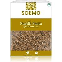 Amazon Brand - Solimo Quinoa & Semolina Fusilli Pasta, 500g
