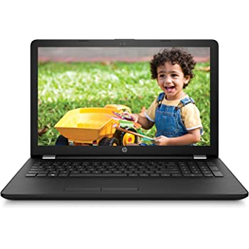 HP 15-BA042AU 15.6-inch Laptop (E2-7110/4GB/1TB/DOS/Integrated Graphics), Sparkling Black