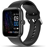 """LIFEBEE Smartwatch, 1,54"""" Reloj Inteligente Impermeable IP68 para Mujer Hombre, Pulsera de Actividad con Pulsómetro Monitor d"""