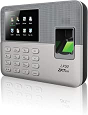 ZKTeco LX50 Biometric Fingerprint Time Attendance Clock with Build-in SSR Excel Software