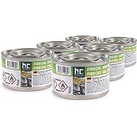 Höfer Chemie Lot de 6 pots de pâte combustible 200 g - Pour la restauration et les ménages privés - Pour garder les…