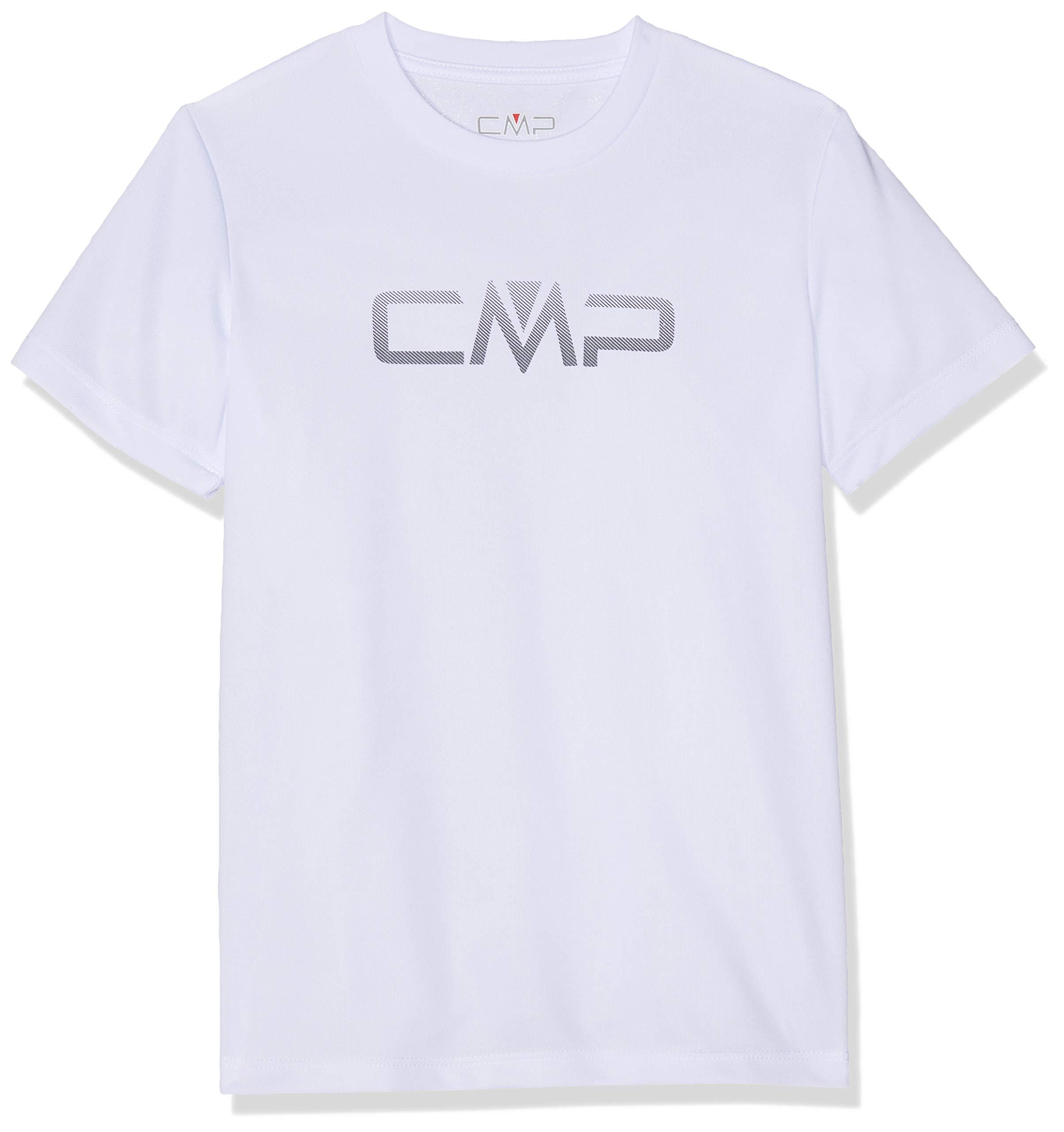 CMP Jungen T-Shirt, Bianco, 110