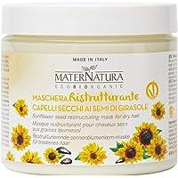 Maternatura Maschera Capelli Ristrutturante ai Semi di Girasole, Certificata Bio - Made in Italy - Beauty Routine…