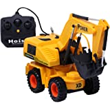 Zest 4 Toyz Remote Controlled Battery Operated Smart Excavator Truck & Dump Construction Toy | Remote Control Toy for…