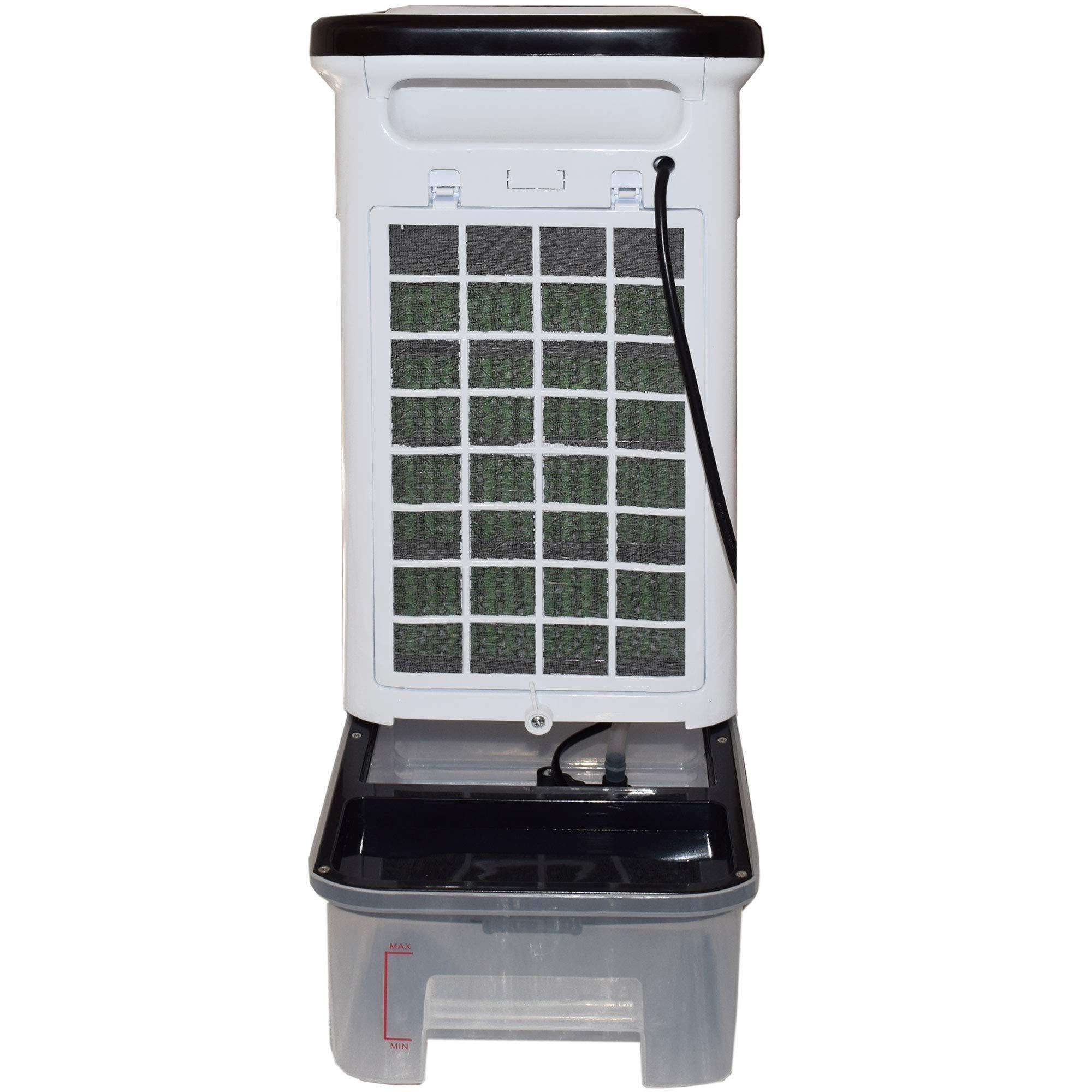 Syntrox Germany 4 in 1 Luftkühler Ventilator Luftbefeuchter Luftreiniger Klimagerät Schwarz