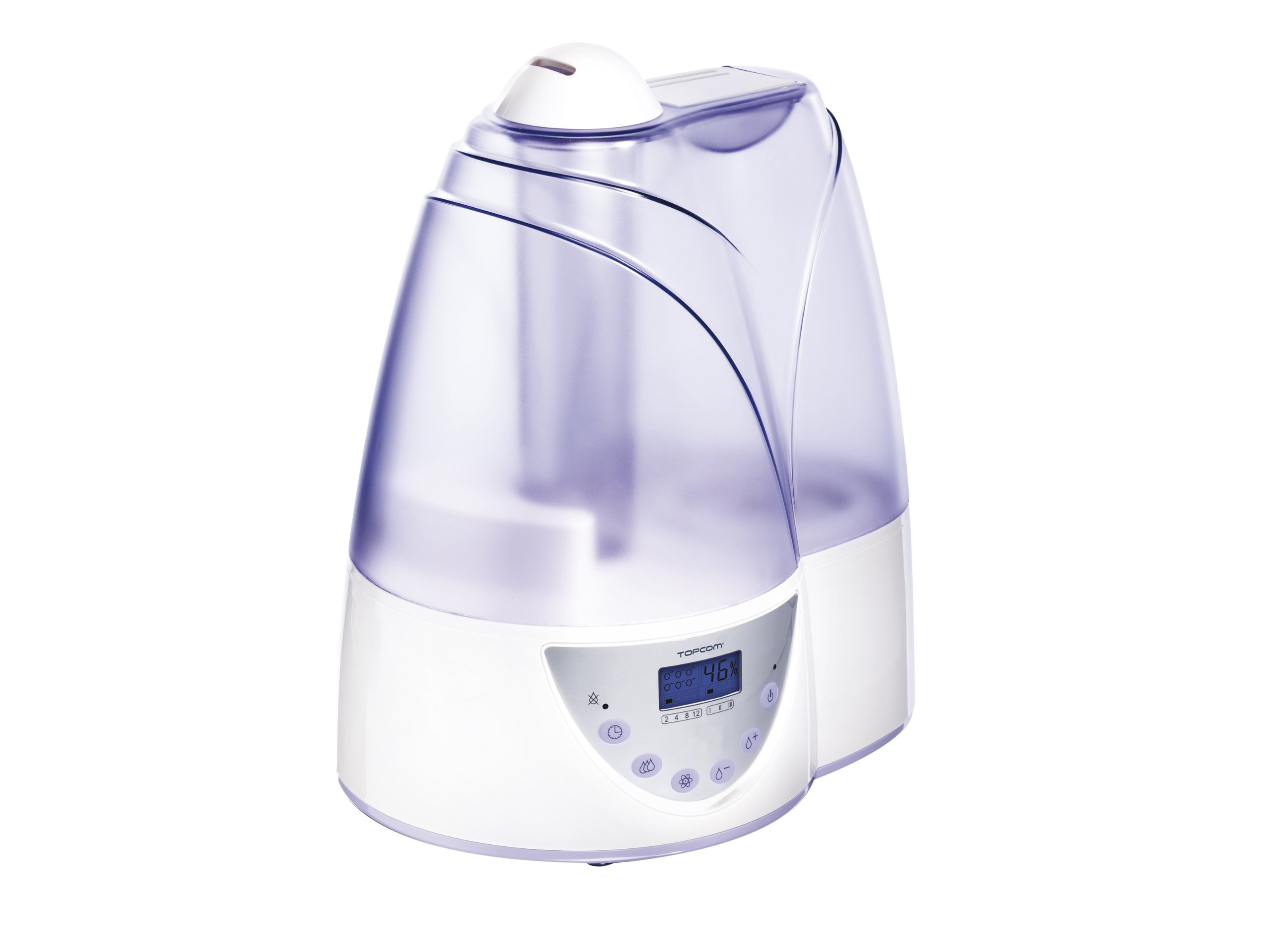 Topcom LF-4718 humidifier - humidifiers (LCD, LCD, White)