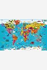 Collins Children's World Map Map