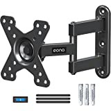 Amazon Brand - Eono Monitor Mount TV Wall Bracket Swivel and Tilt, Monitor Wall Bracket for Most 10-26 inch TVs and Monitors
