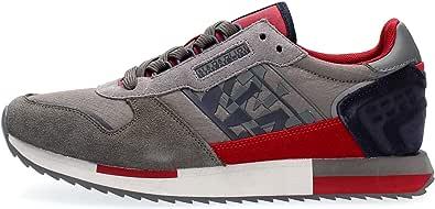 Napapijri - Sneakers Uomo Virtus in Suede e Ripstop - Numero 40