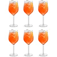 Verre à cocktail Spritzer de Libbey - 620 ml / 62 cl - 6 pièces - Vont au lave-vaisselle - Parfait pour un cocktail à la…