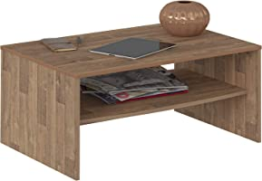 Artely Austin Coffee Table, Rustic Brown, 40.5 cm x 91 cm x 60 cm