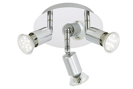 Briloner Leuchten Deckenleuchte Badezimmerlampe LED Lampe Deckenlampe Badlampe Badleuchte