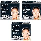 VLCC Diamond Facial Kit (Diamond, Pack of 3)