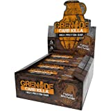 Grenade Fudge Brownie Killa High Protein and Low Carb Bar, 12 x 60 g