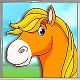 Livre de coloriage de cheval