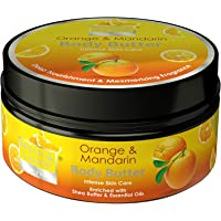Bryan & Candy New York Orange and Mandarin Body Butter with Shea and Essential Oils for 24 Hour Hydration and Freedom…