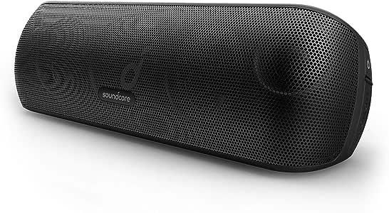 Soundcore Motion+ Enceinte Bluetooth avec Son Hi-Res 30W, USB-C, 12 Heures d'autonomie, étanchéité IPX7, appli avec EQ modifiable, DSP avancé et Audio Haute fidélité