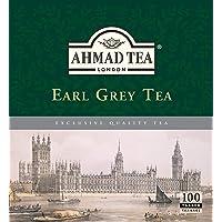 Ahmad Earl Grey Tea 100 Tagged Tea Bags Each Black Tea
