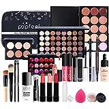 CHSEEO Paleta de Maquillaje Set Paleta de Sombras de Ojos, Juego de Maquillaje Kit de Maquillaje para Mujeres y Niñas Caja de