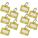 HMF 180006-10 x Schlüsselanhänger, gelb
