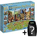 Strategie-Spiel Klassiker Deutsche Version Hans im Gl/ück Asmodee HIGD0109 Carcassonne Big Box