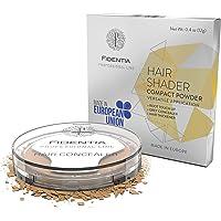 Fidentia Hair Shader Ritocco Radici e Capelli Grigi perfetto e instantaneo - 12g, Marrone Chiaro