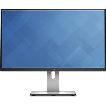 "Dell UltraSharp U2515H - Monitor LED de 25"" (2560 x 1440p, 350 cd/m2, 60 Hz, IPS, 8 ms, HDMI, DisplayPort) color negro y plateado"