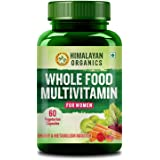 Himalayan Organics Whole Food Multivitamin for Women || with Natural Vitamins, Minerals, Extracts || Best for Energy, Brain,