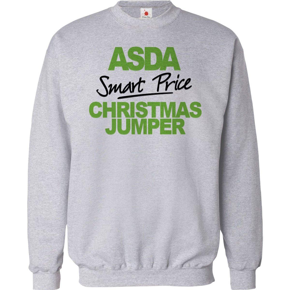 Funny Christmas Jumper Asda Smart Price Unisex Xmas