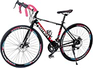 Aster Pc 660 Racing Bike - Black Red