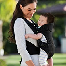 Kihika Ultra Comfortable Baby Carrier Sling Seat, 2 Years (Multicolour, baby-carrier-1)