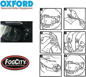 Antifog Visier Des Helm Oxford Fogcity Visier Anti Fog Nebel Kostenlose Pinlock Und Nicht Pinlock Einsatz Visiere Auto