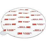 DonDo 3M 4950 VHB dubbelzijdig plakband montage plakstrip kleefpads diameter 80 mm 5 stuks