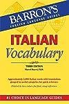 Barron's Italian Vocabulary